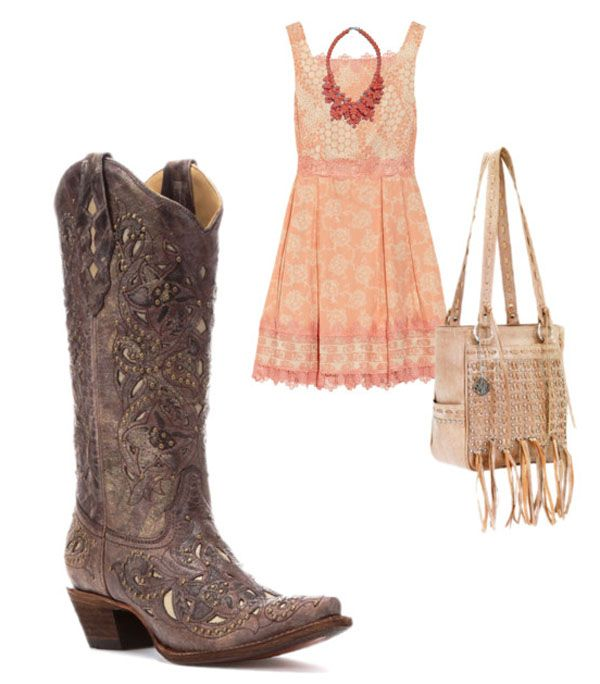 Three Great Warm-Weather Outfits to Wear with Cowboy Boots ...