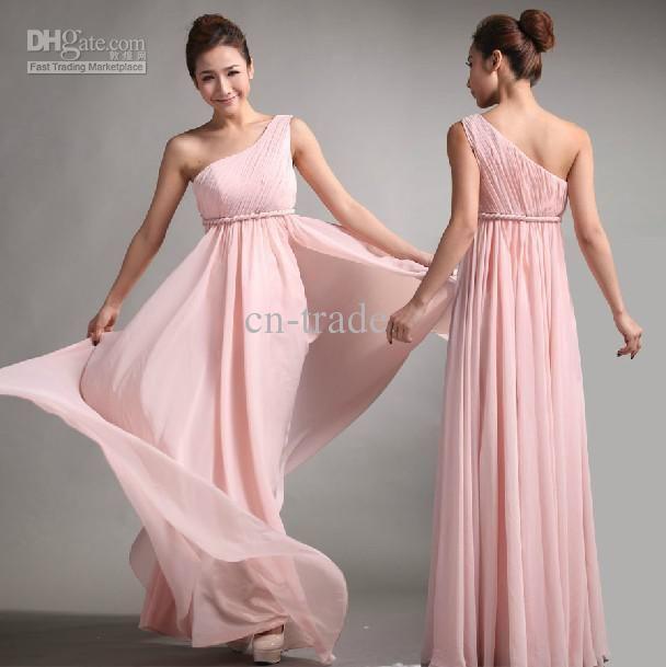 Cheap vestidos de dama de honor 2013 dulce princesa estilo griego ...