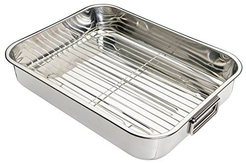 Kitchen Craft Roasting Pan With Rack Stainless Steel Want Additional Info Click On The Image This Is An Amazon A Roasting Pan Kitchen Crafts Roasting Tins