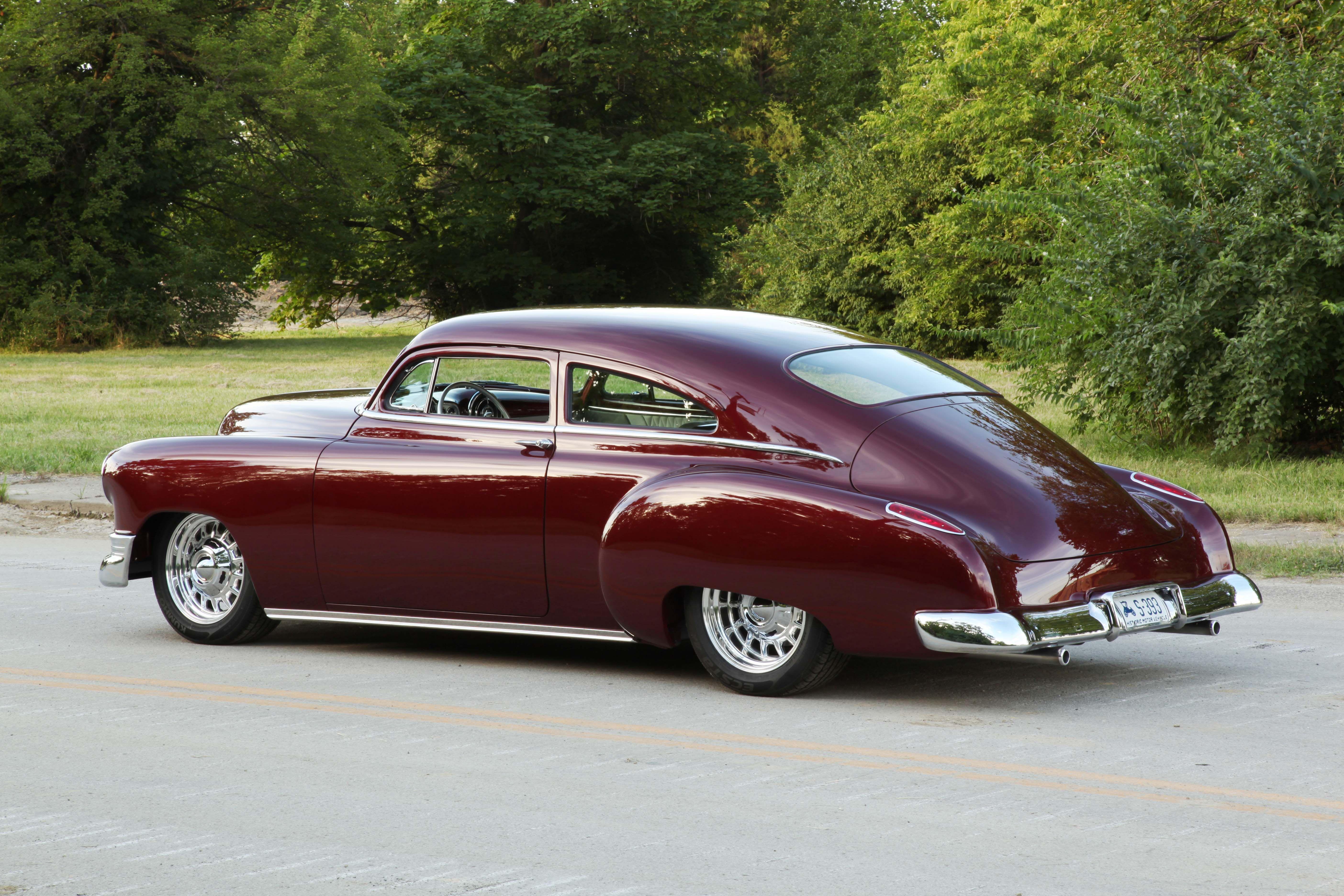 1950 Chevy Fleetline sports a blown-six! - Hot Rod Network