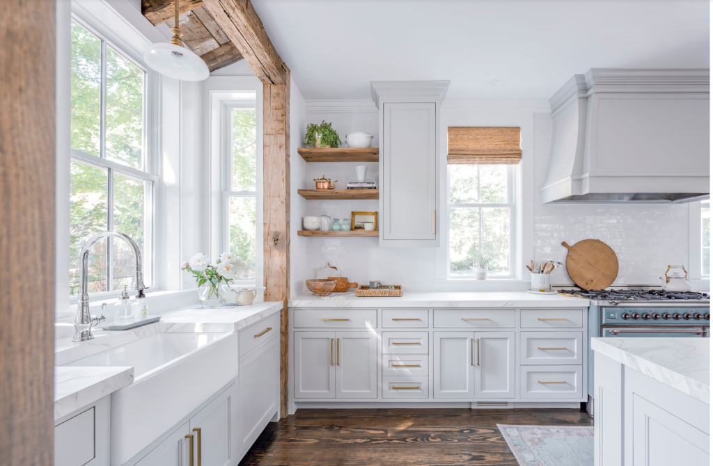 The 15 Most Beautiful Modern Farmhouse Kitchens On Pinterest Sanctuary Home Decor In 2020 Modern Farmhouse Kitchens Kitchen Design Rustic Kitchen