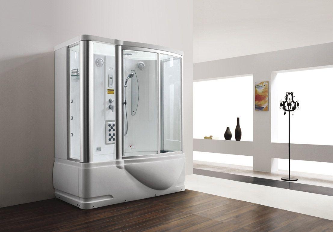 Monalisa M 8250 Steam Sauna Room With Tub Steam Shower Enclosure