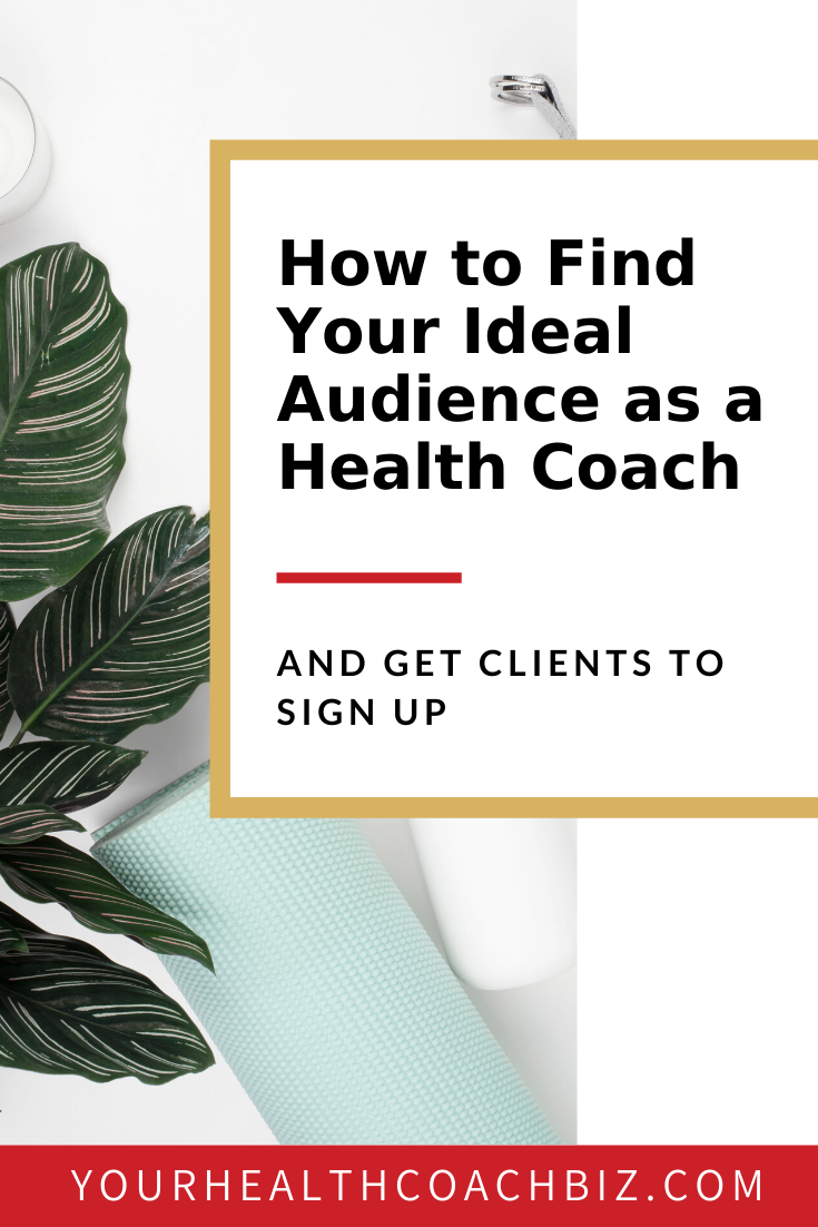 How To Find Your Ideal Online Health Coaching Client Health Coach Health And Wellness Coach Wellness Coach
