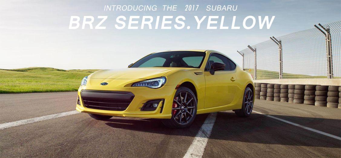 2017 Subaru BRZ Series.Yellow Subaru brz, Subaru, Subaru