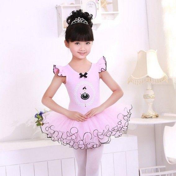 Los niños bailan el vestido de tul chica vestido del Ballet desgaste ...