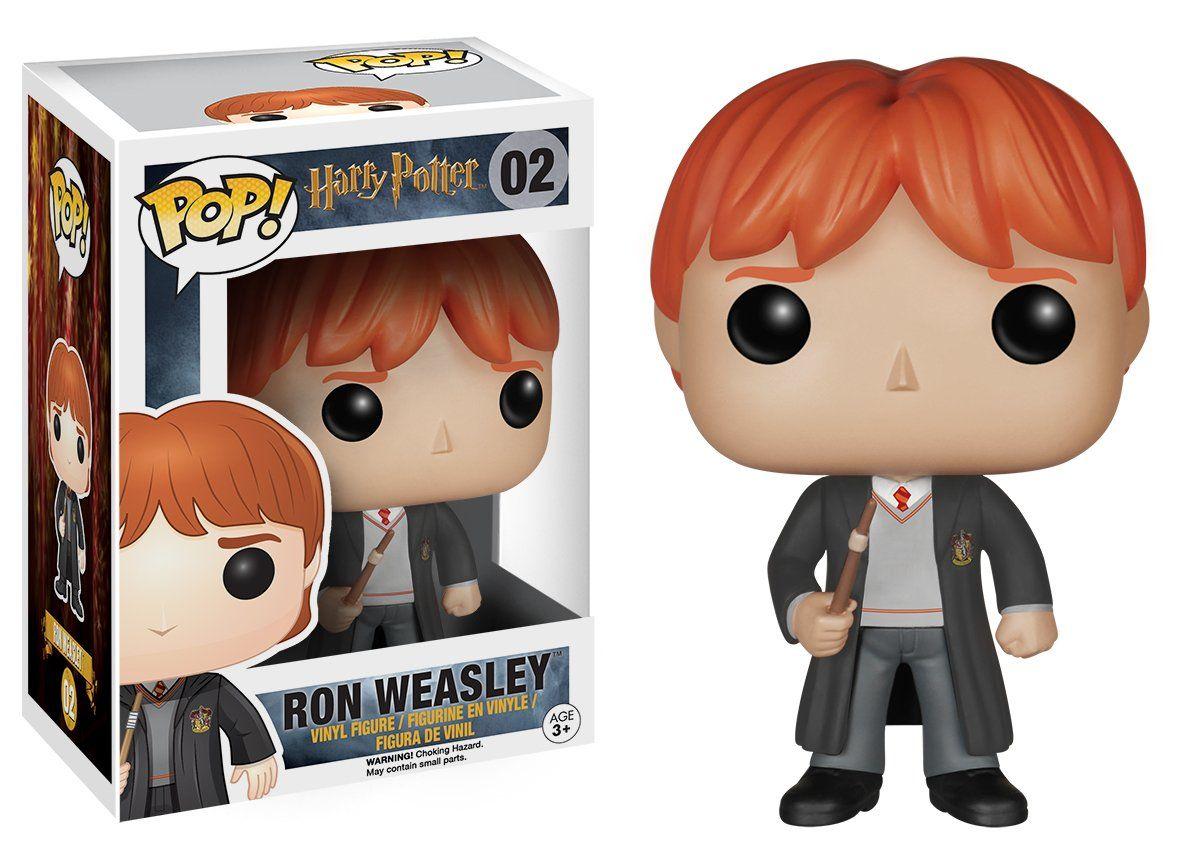 Funko pop Harry Potter ron Weasley with Scabbers vinilo figure item #14938