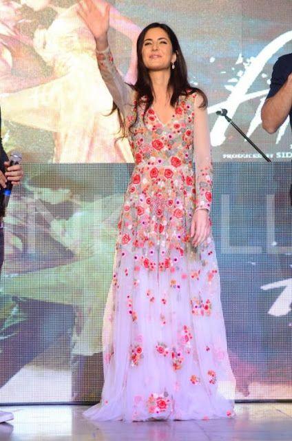 Bollywood Actress Saree Collections: Katrina Kaif in Varun Bahl ...