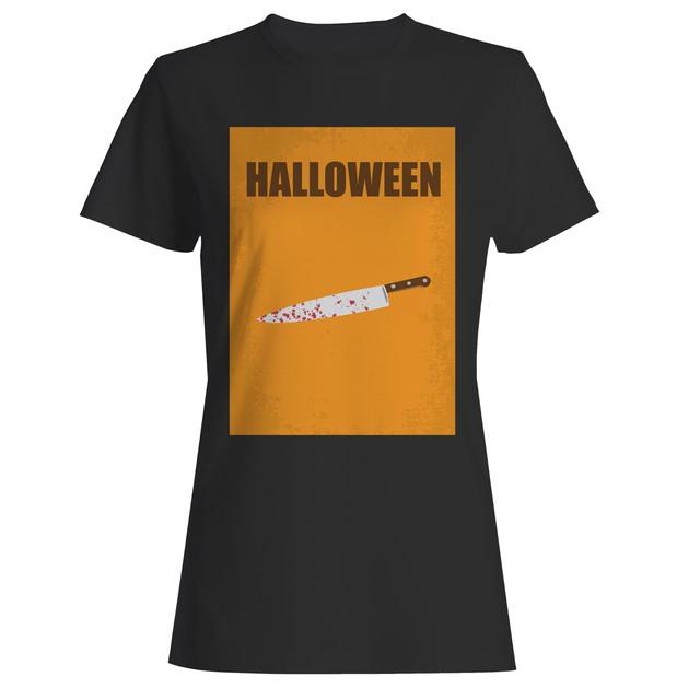 Halloween Michael Myers Knife Women T Shirt T Shirts For Women T Shirt Shirts