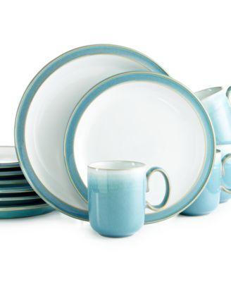 Denby Azure 12-Pc. Set Service for 4  sc 1 st  Pinterest & Denby Azure 12-Pc. Set Service for 4 | PC Dinnerware and Dining