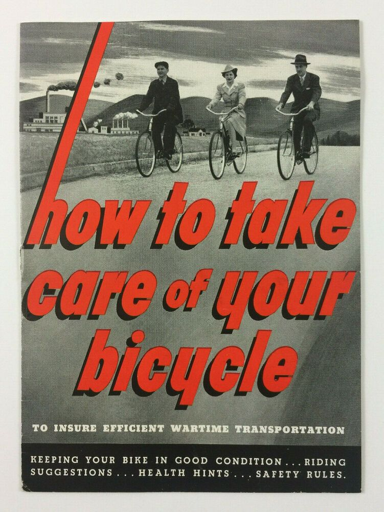 How to take care of your bicycle vintage shelby cycle co
