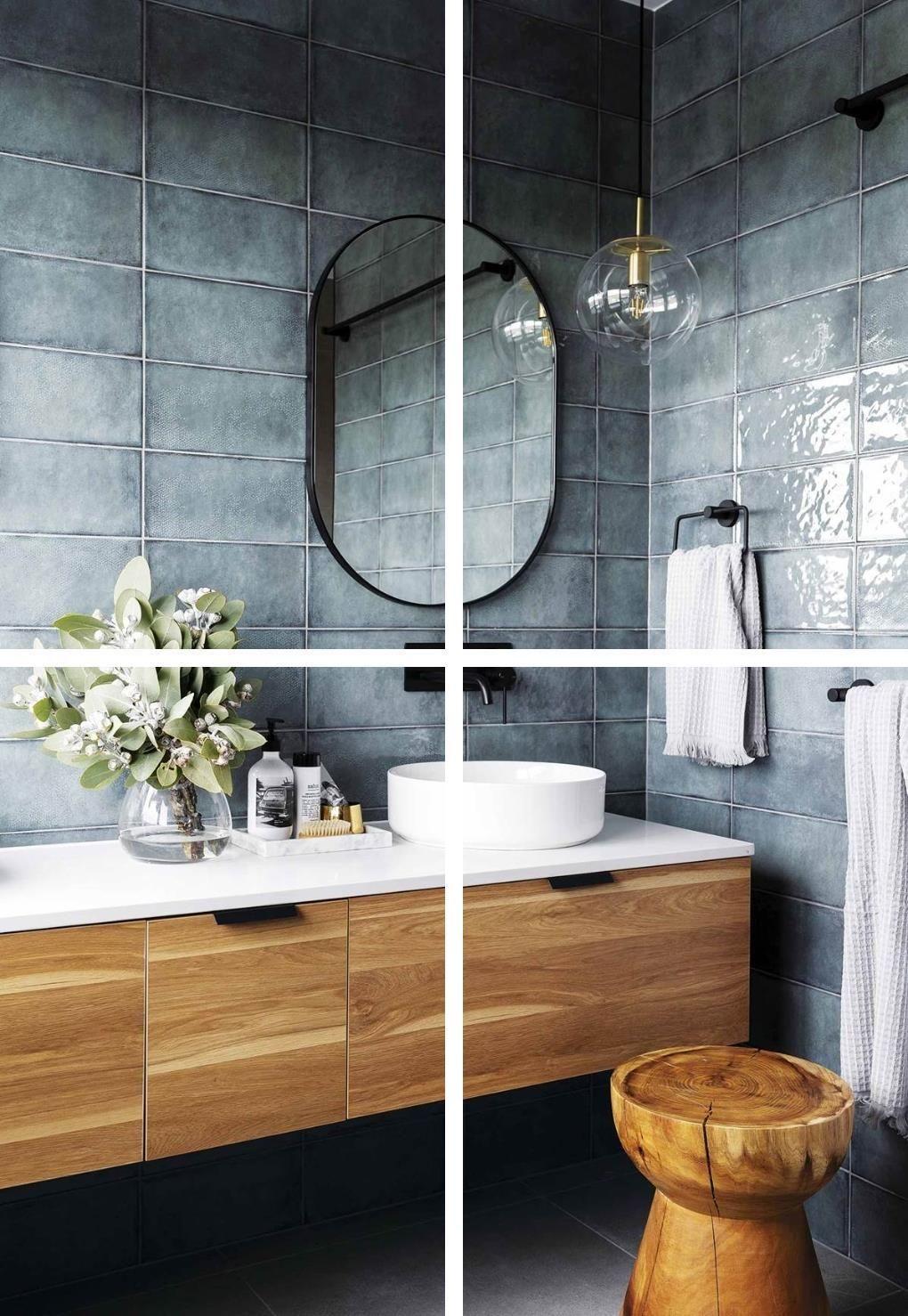 Pretty Bathroom Decor Affordable Bathroom Sets Bathroom Ensembles Accessories Glass Bath Accessories Blue Mosaic Bathroom Accessorie In 2020 White Bathroom Decor