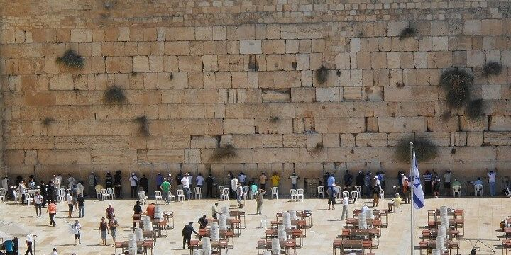 Waiting Wall, Western Wall, Jerusalem, Israel