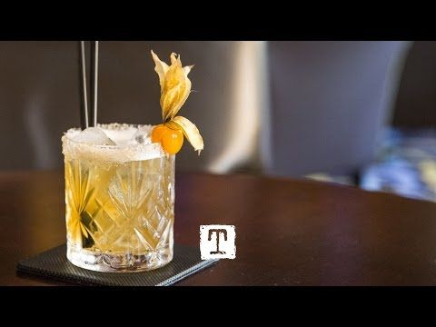 Tealeaves Mixology : Mandarin Breakfast Martini Cocktail | Rum, Tea, Grand Marnier | TEALEAVES - YouTube