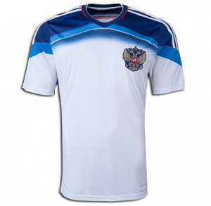 RUSSIA Soccer Team 2014 FIFA WORLD CUP Away Replica Jersey  14022827099  ac75bbd9f