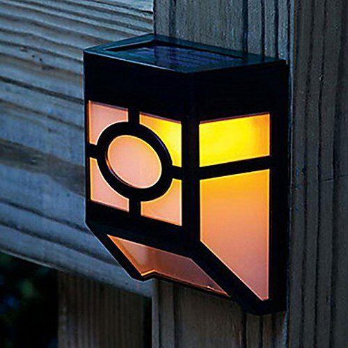 Outdoor   Solar Powered Garden Yard Path Lamp (Warm White)