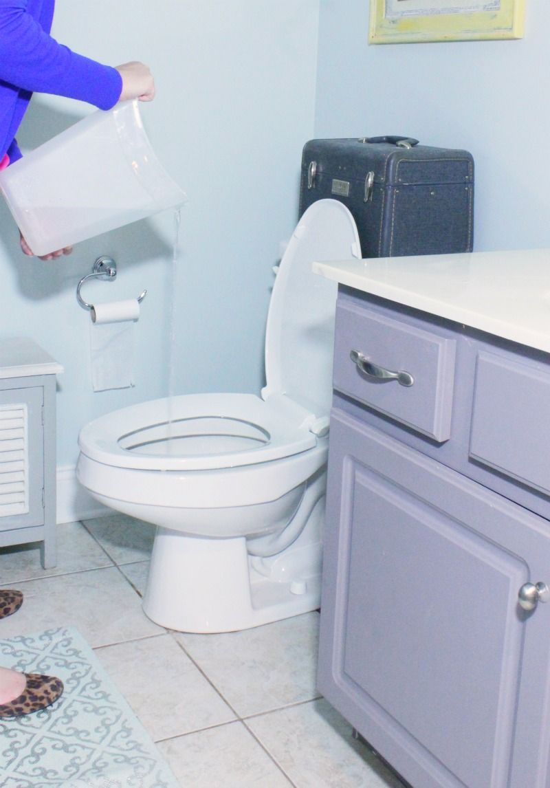 How to Unclog A Toilet Cleaning Pinterest Toilet Clogged