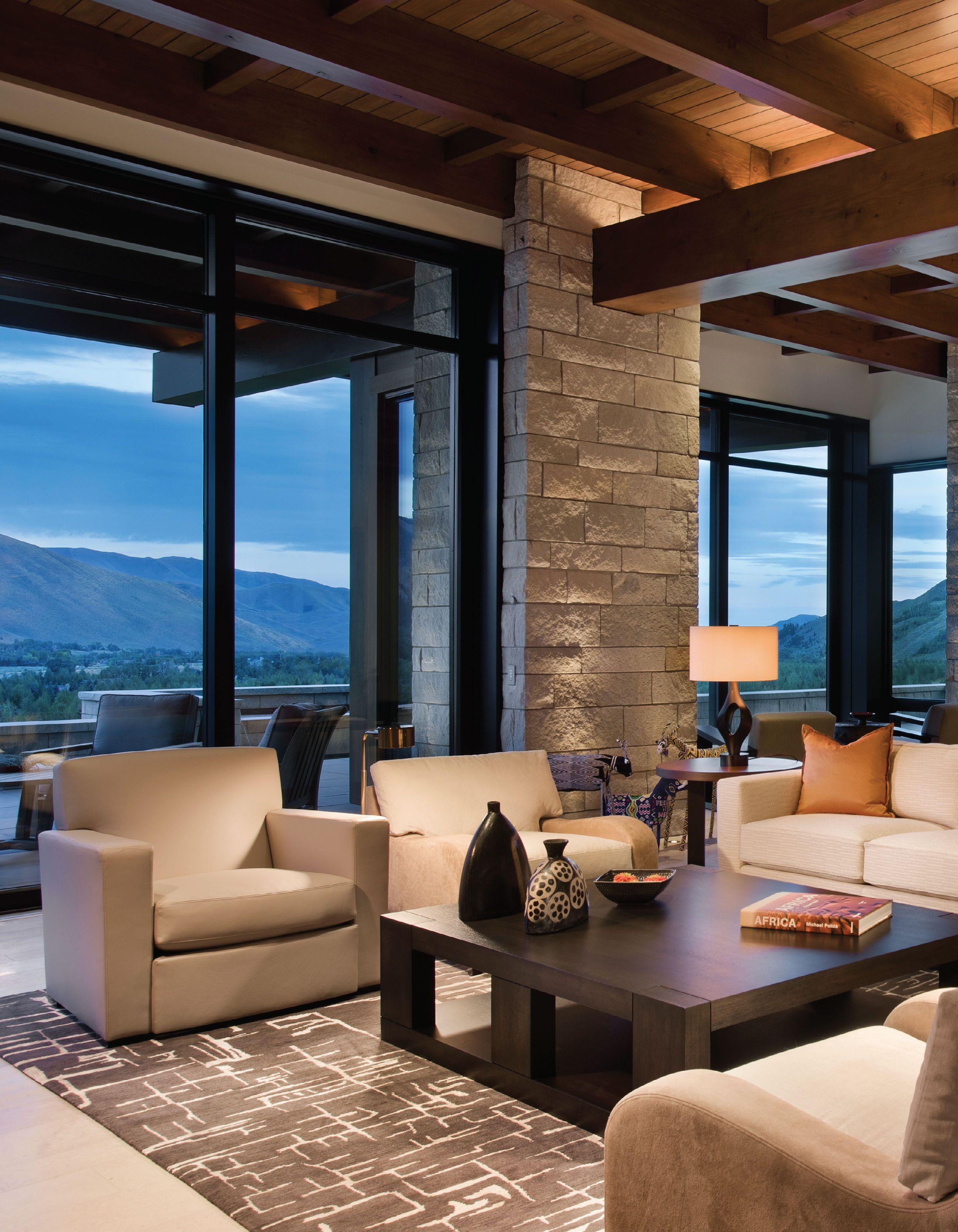 Bright Ideas Mountain Home Interiors Modern Mountain Home