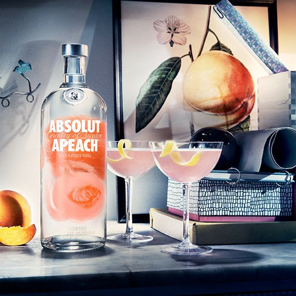 Absolut Apeach has a smooth and mellow taste with a sophisticated and fruity character of peach.