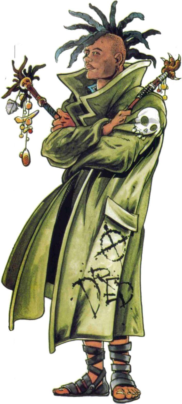 shadowrun; male; human; mage, street shaman