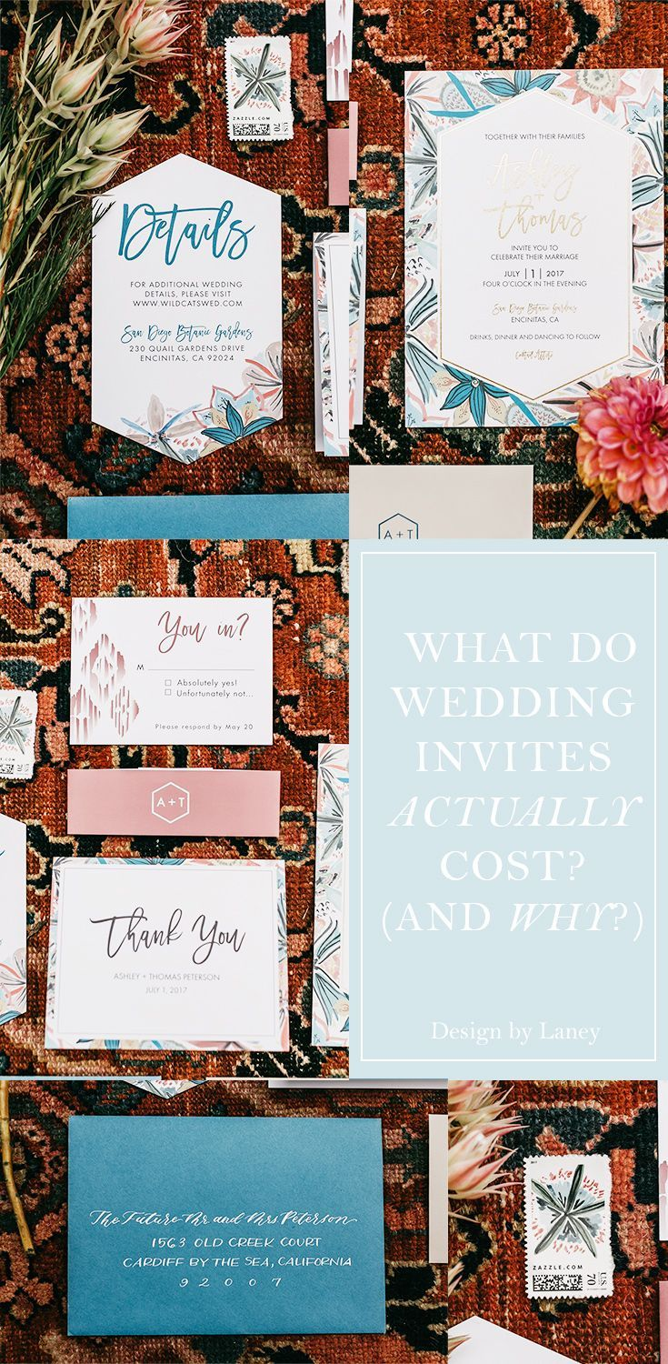 what do wedding invitations actually cost wedding planning