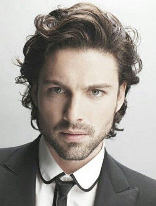 Long Latest Curly Hairstyles For Men