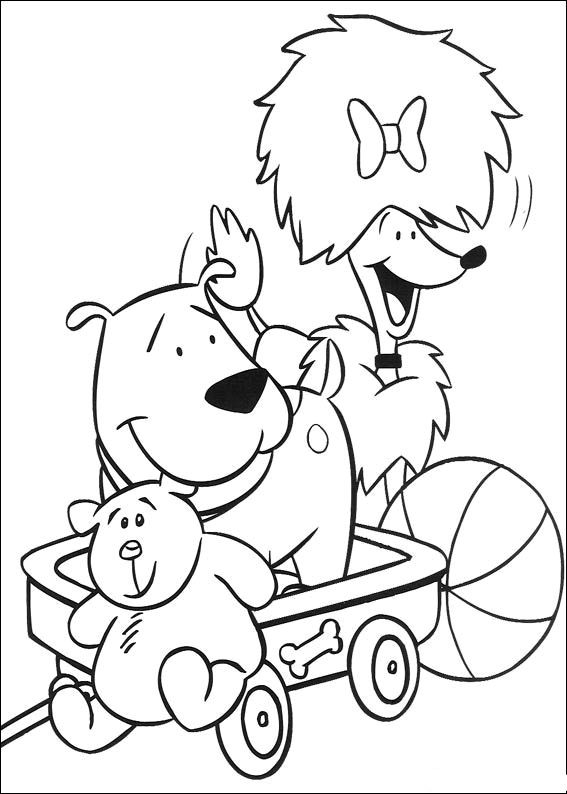 Animations A 2 Z Coloring Pages Of Clifford The Big Red Dog I