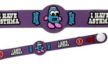 Kids Asthma Medical Id Alert Bracelet
