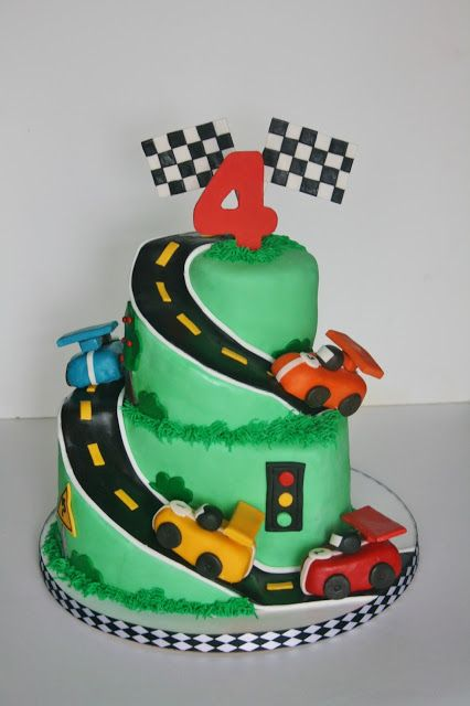 Miraculous Race Car Cake Cars Birthday Cake Race Car Cakes Racing Cake Funny Birthday Cards Online Elaedamsfinfo