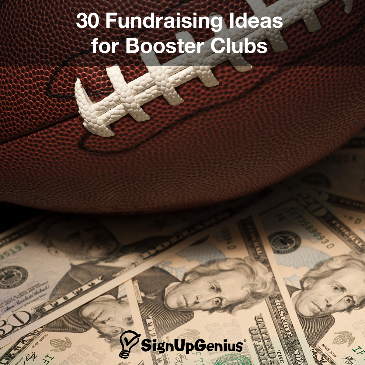 30 fundraising ideas for booster clubs. help your youth sports team