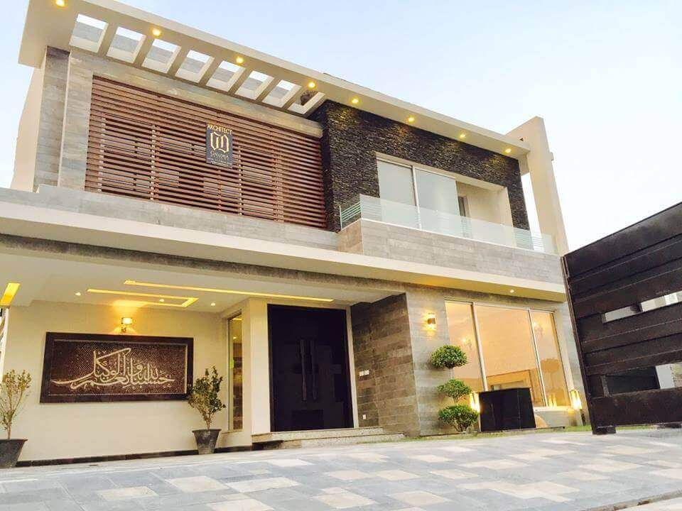 Front Elevation Dha Lahore : Contemporary residence at dha phase by galleria designs