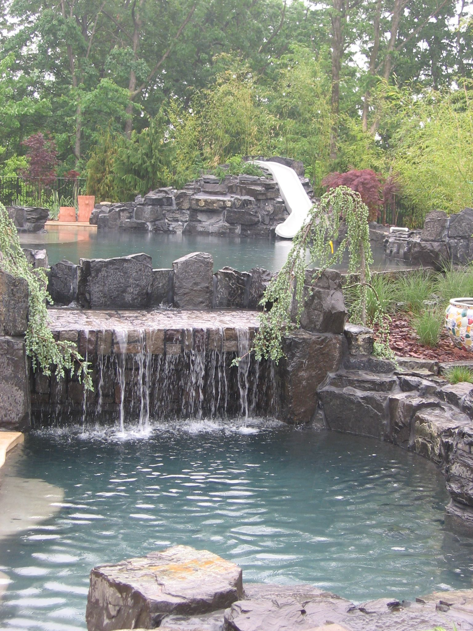 Custom Natural Looking Pool ! Poolandspa.com (With images ...