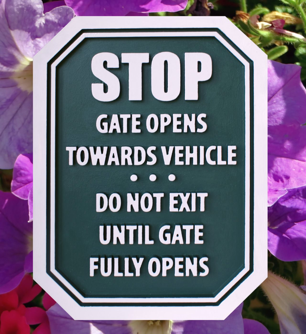 bae0d05eb7 Strata Sign Company Stop Signs - Gate Open Sign  www.customoutdoorwoodensigns.com