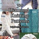 Diamond Knitting Patterns