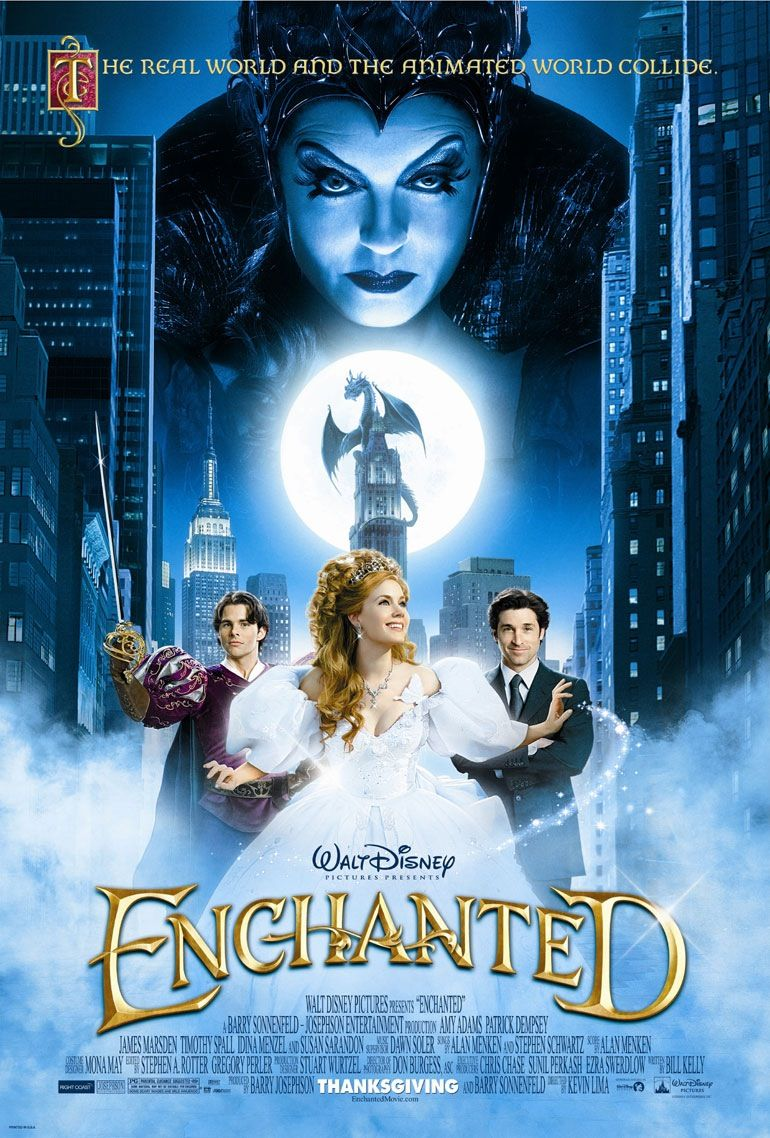 Enchanted (2007) · Directed by Kevin Lima · Written by Bill Kelly ...