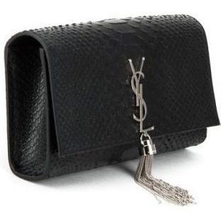 Vanessa Hudgens wearing Saint Laurent Kate Tassel Wallet On A Chain