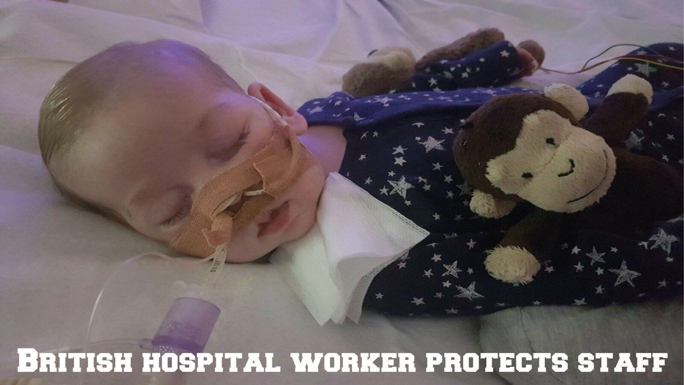 #Charlie Gard Case: British hospital worker protects staff - Week Facts: Week Facts Charlie Gard Case: British hospital worker protects…