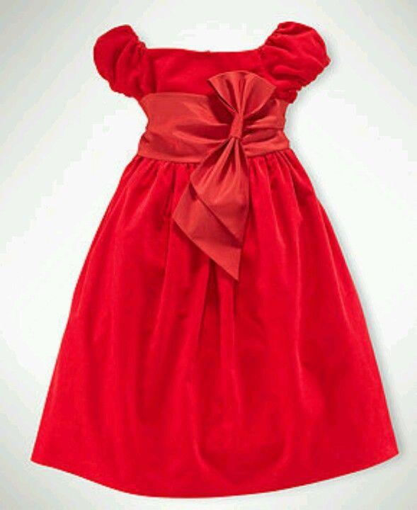 b1f7db78a29d Ralph Lauren - Little girls Christmas dress @ Macy's | Katelyn ...