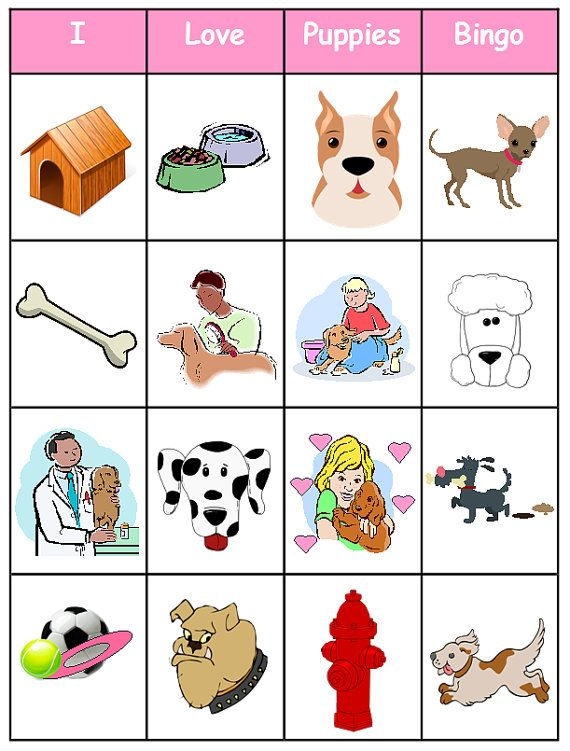 photo about Printable Dogs named Pet / Pet dog Bingo - Printable - 17 community forums - Best for a