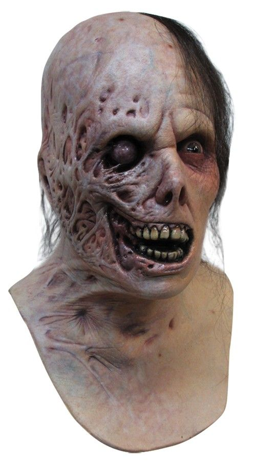 burnt horror mask prop adult latex scarred scary creepy eerie disgusting cheap 5999 - Creepy Masks For Halloween