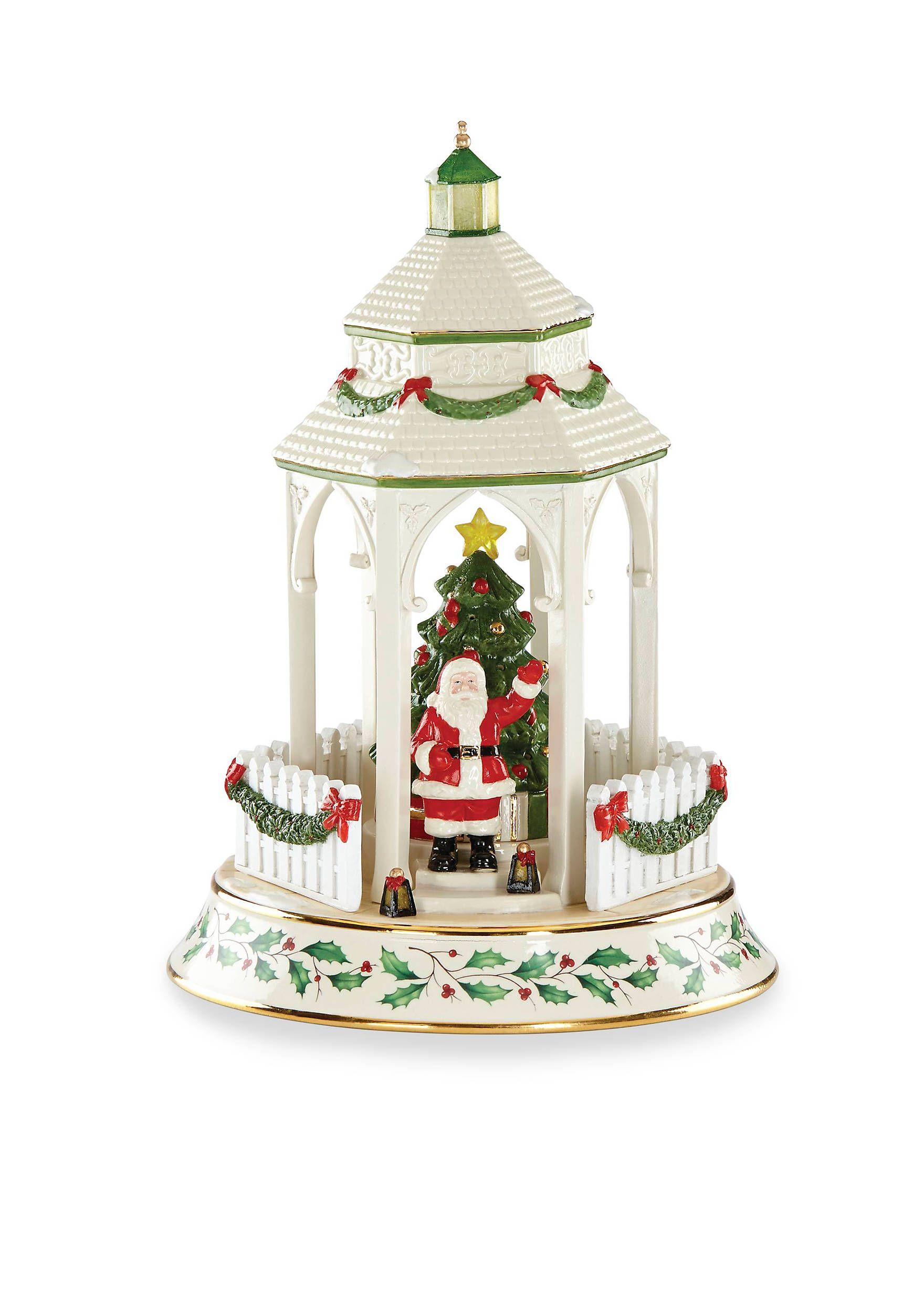 lenox 2017 holiday town gazebo centerpiece holiday dinnerware