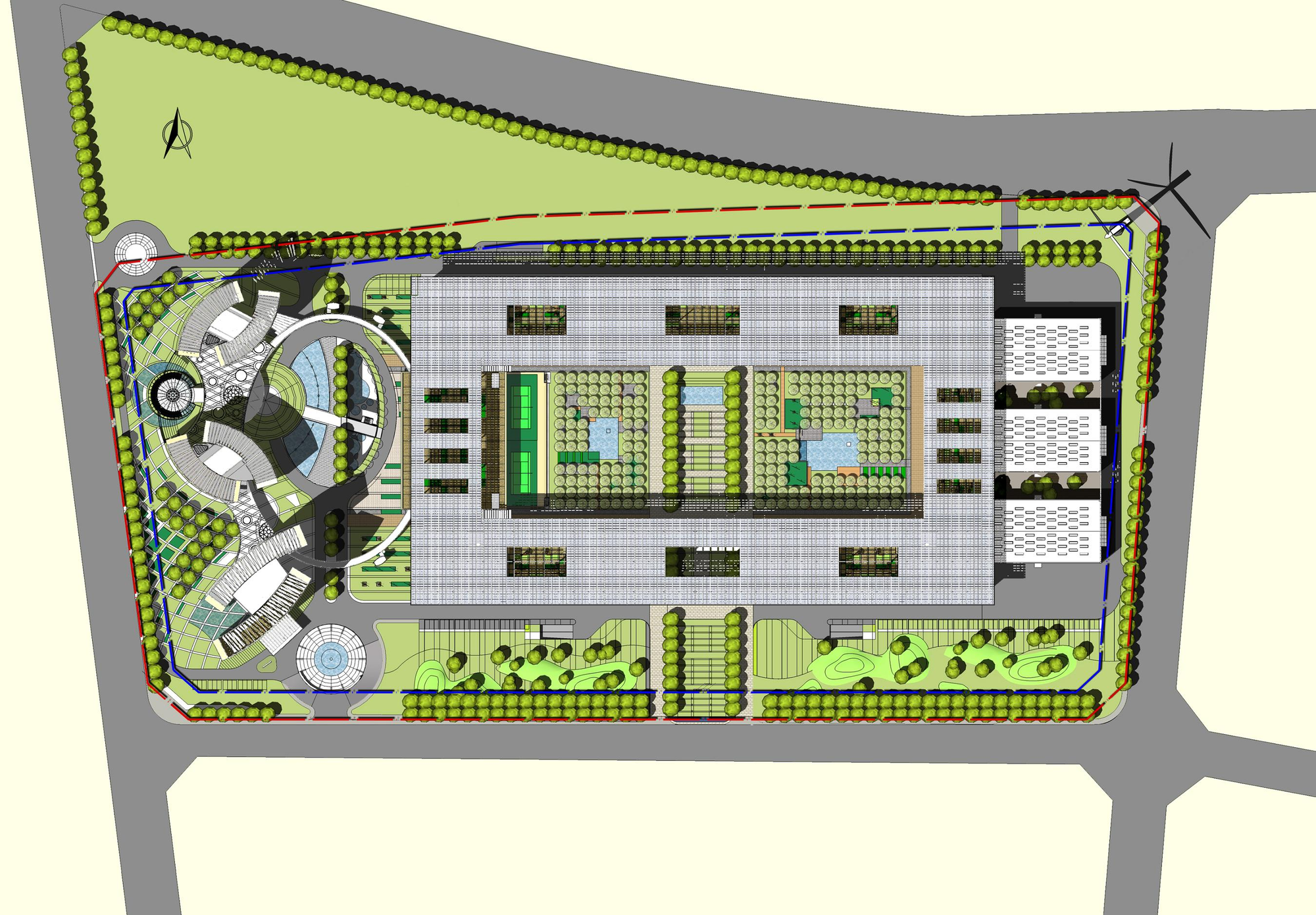 Guodian New Energy Technology Research Institute Beijing-Site Plan