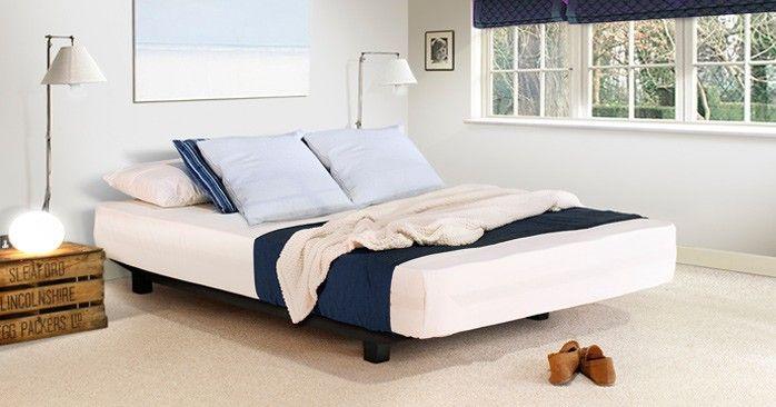 Floating Bed Space Saver No Headboard Floating Platform Bed