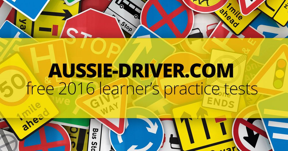 drivers license learners practice test wa