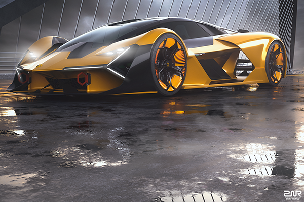 Lamborghini Terzo Millennio On Behance Cars Gt Cars Cars