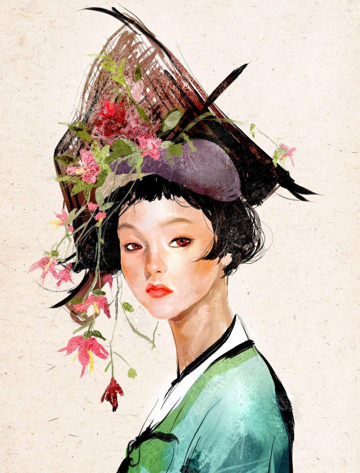집시 양세은 Zipcy Kai Fine Art 한국의 미술 유화 귀여운 예술