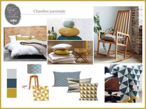 1000 images about chambre parents on pinterest pastel paris wallpaper and swings - Chambre Scandinave Jaune