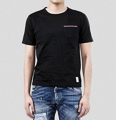 (トム ブラウン) THOM BROWNE 15SS トリコーロ 3LINE ポケットTシャツ_ブラック MJS0... https://www.amazon.co.jp/dp/B01GC9DJIW/ref=cm_sw_r_pi_dp_i-HwxbDV8XR4N