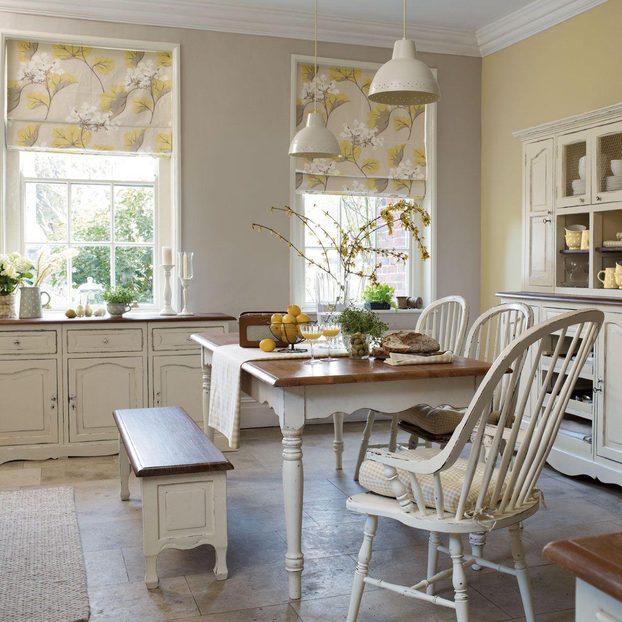 Laura Ashley Kitchen Wallpaper: Millwood Leaf Linen Cotton Curtain Fabric Camomile
