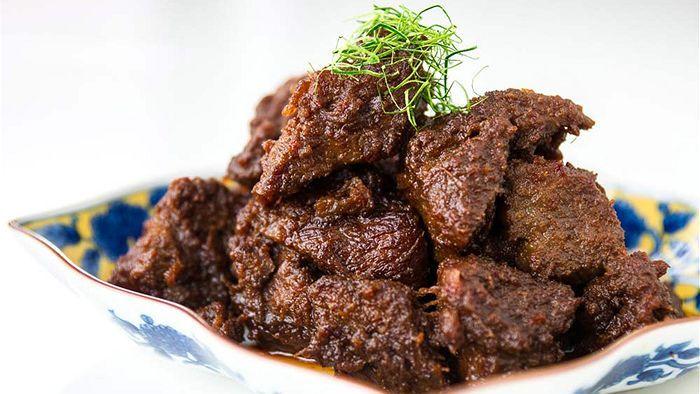 Beef Rendang Recipe Food Recipes Food Beef