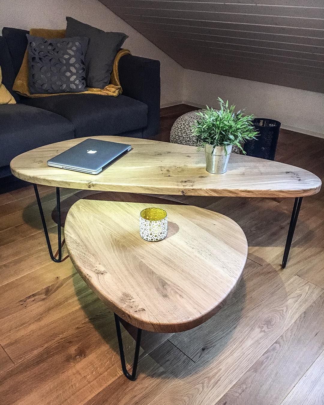 Petites Tables Basses 348 Mentions J Aime 16 Commentaires Ripaton Hairpin Legs